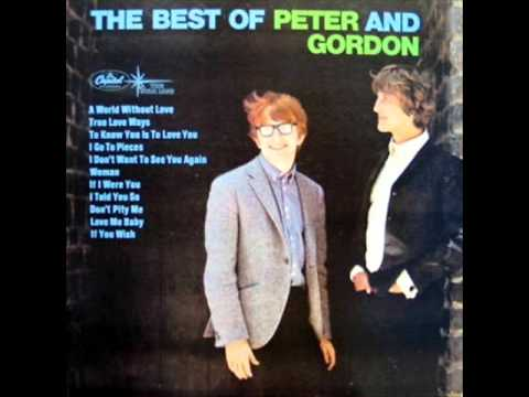 A World Without Love  Peter & Gordon on 196466 Mono Capitol LP