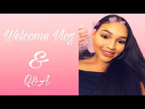 WELCOME VLOG/ Q&A   Khadija Montaño