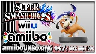 amiibo Unboxing #47: Duck Hunt Duo + Super Smash Bros. U Features