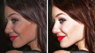 Photoshop Tutorial | Easy Way to Retouching Skin in Photoshop