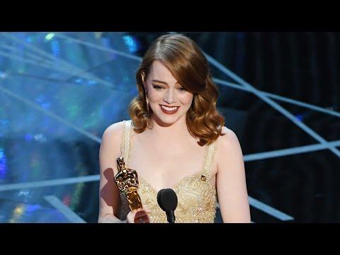 Emma Stone Wins Best Actress For La La Land & Praises Ryan Gosling In Speech At 2017 Oscars