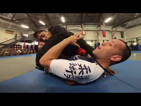 Reverse Triangle From Bottom Side Control by Joel Bouhey - YouTube
