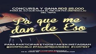 Don Miguelo - Pa que me dan de eso (Acapella) (Original)