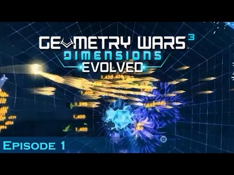 The Sapphire Chapter   Geometry Wars 3: Dimensions Evolved (Episode 1)  