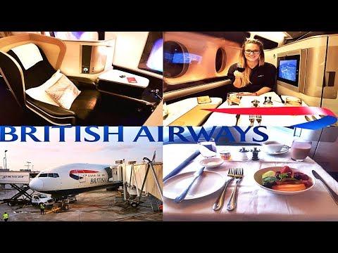 $11,907 FIRST CLASS Flight With British Airways