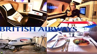 $11,907 FIRST CLASS Flight With British Airways