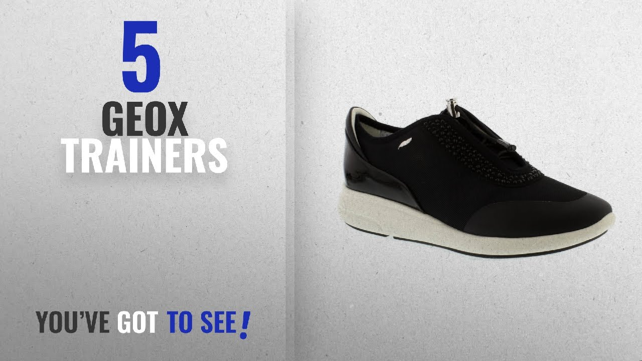 Top 5 Geox Shahira [2018]: Geox Womens D Shahira B Dark Navy Suede Trainers 10 US