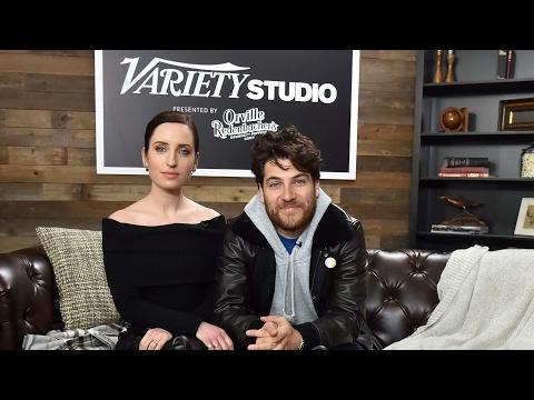 Zoe ListerJones & Adam Pally Talk 'BandAid' at Sundance
