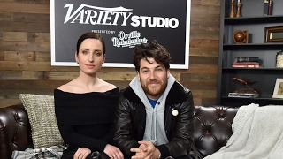 Zoe Lister-Jones & Adam Pally Talk 'BandAid' at Sundance