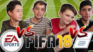 FIFA 18 (PS4 Pro) - Fifa Kids Gaming! 🙈 ⚽
