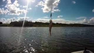 видео Отдых на Озернинском водохранилище