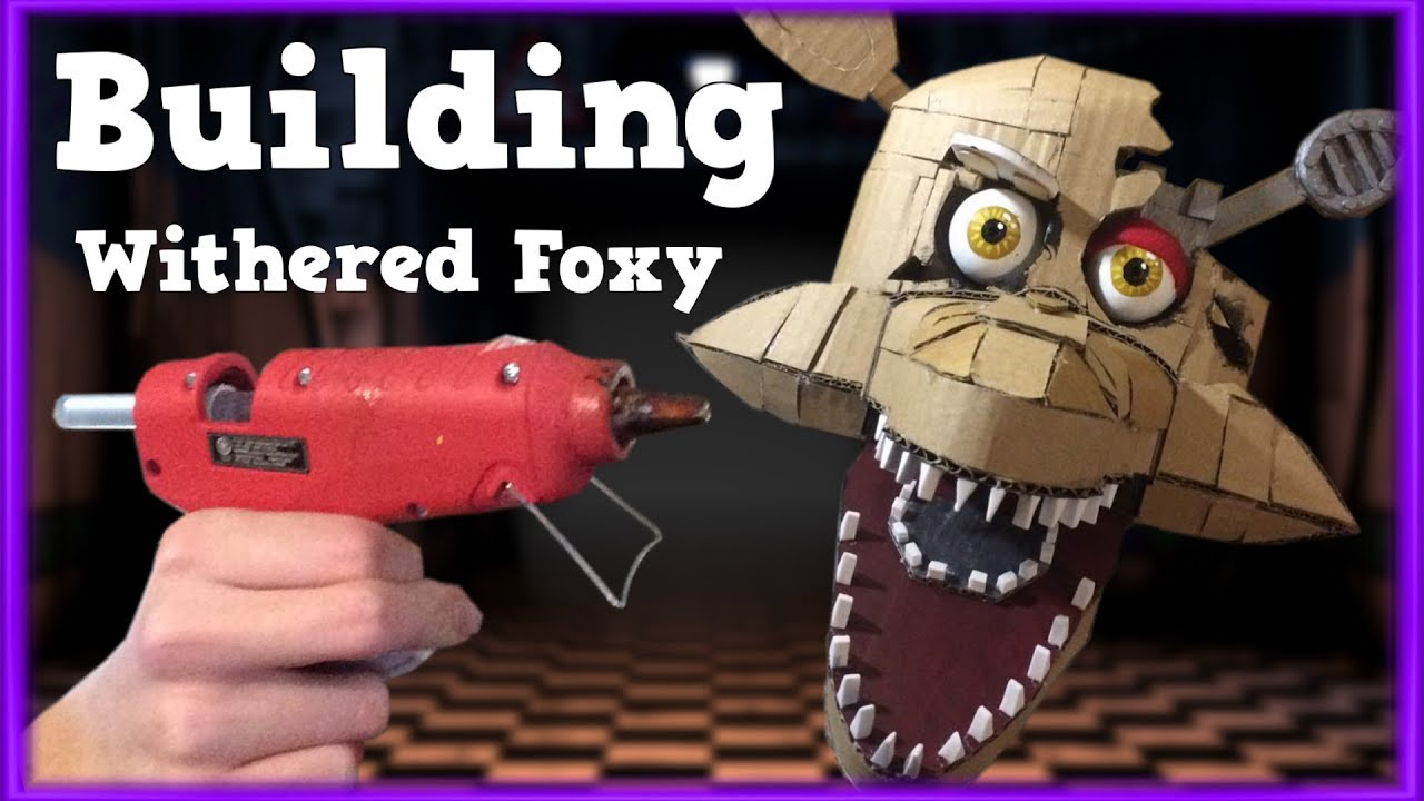 Building Withered Foxy's Head!