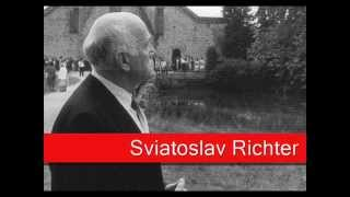 Sviatoslav Richter: Brahms - Variations on a theme by Paganini, op  35 Book I