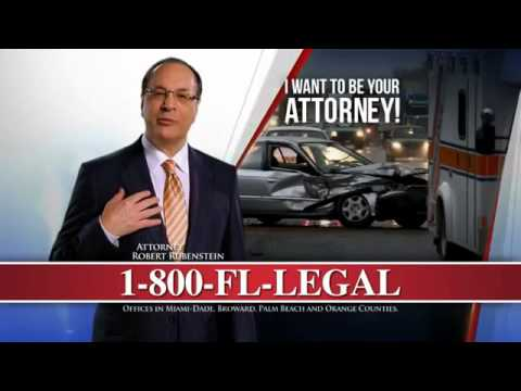 Car Accident? Personal Injury Attorney - Miami, FL - Rubenstein Law - Call 1-800-FL-LEGAL
