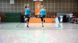 Franziska und Jasmin, Bramsche 2012, J2, Platz 1