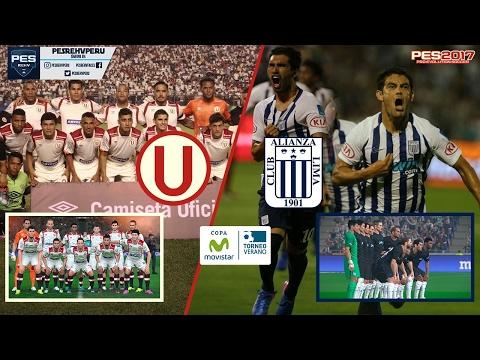 SUPERCLÁSICO | UNIVERSITARIO vs ALIANZA LIMA (EN VIVO) | Copa Movistar | PES 2017