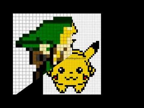 Minecraft Pixel Art Ideas Youtube
