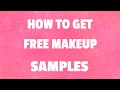 Free Makeup Samples Maine
