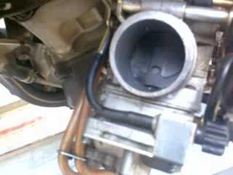 Keihin FCR 41-MX Accerlator pump PROBLEM! | FunnyCat TV