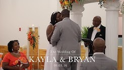 Kayla + Bryan: Wedding Film at Sweetwater Church of Christ in Jacksonville, FL