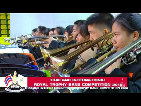 Thailand International Royal Trophy Band Compettion 2016