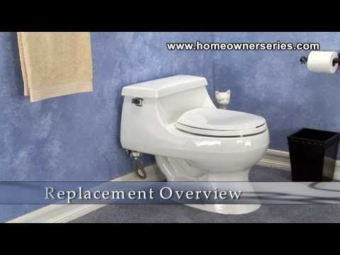 How to Install a Toilet - Complete Toilet Replacement - Part 1 of 3