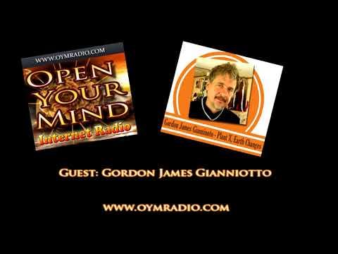 Open Your Mind (OYM) Radio - Gordon James Gianniotto - 19th Novermber 2017