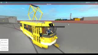 roblox simulator řiženi tramvaje