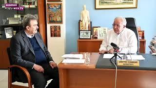 Ο Δήμαρχος Κιλκίς Δημήτρης Σισμανίδης μιλά για το έργο και τους στόχους του-Eidisis.gr webTV