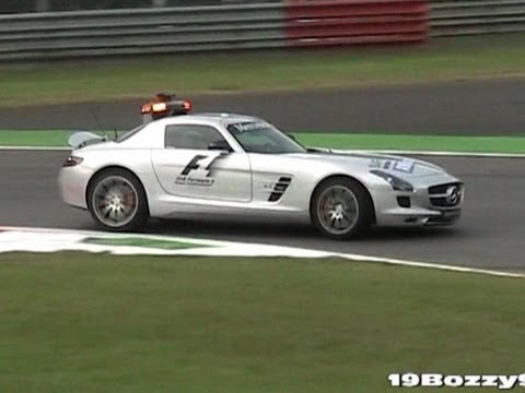 Mercedes SLS Formula 1 (F1) Safety Car SOUND - In Action On The Track
