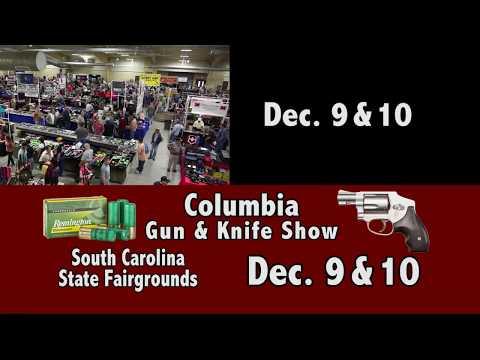 Columbia Gun & Knife Show Dec  9 & 10, 2017