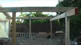 Back Yard Patio Cover Video #2