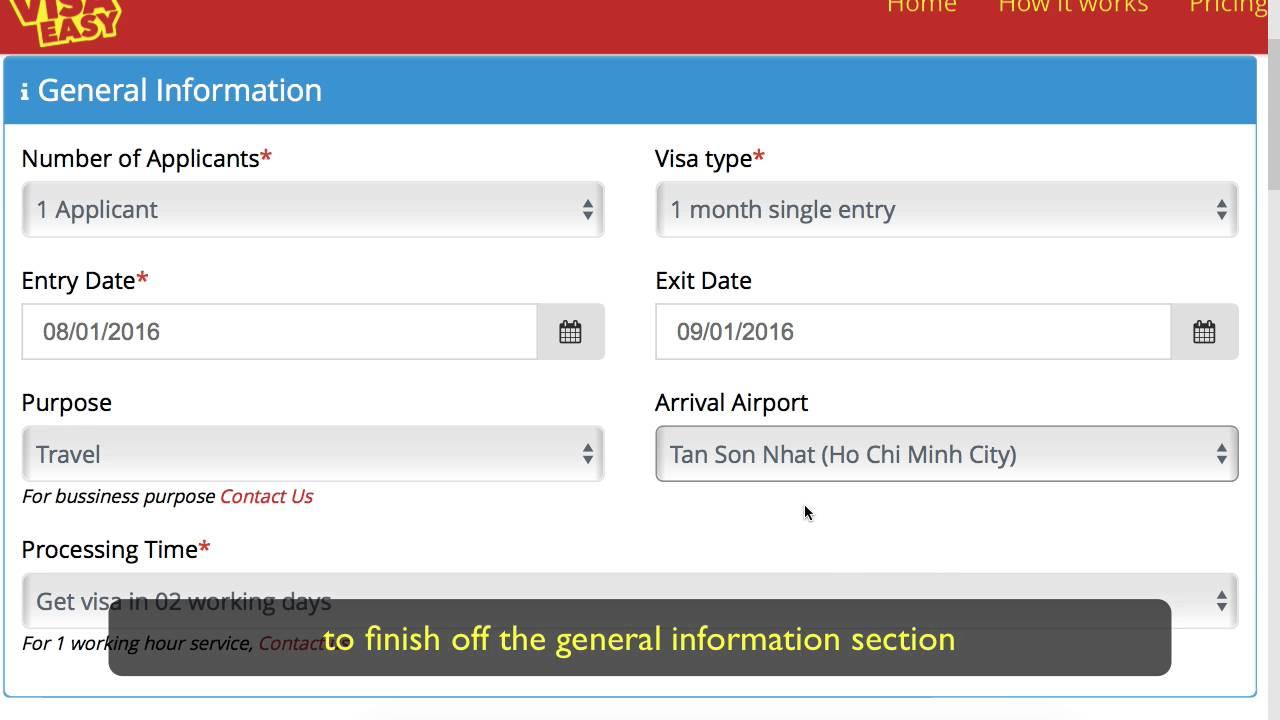 Vietnam visa easy walkthrough how to apply for your visa online vietnam visa easy walkthrough how to apply for your visa online publicscrutiny Gallery