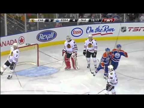 Sam Gagner 8 Points Night against the Chicago BlackHawks[HD]