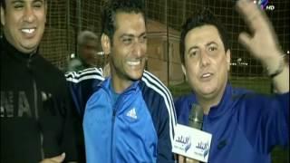 محمد عبد المعم يغنى لكابتن شوبير