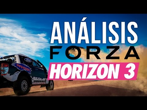 ANÁLISIS de FORZA HORIZON 3 - ¿Qué tal está?