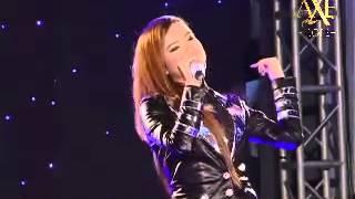 Jam Mean thmey Jam Bek Pi oun - Pich Sophea at AXE 2012 Concert