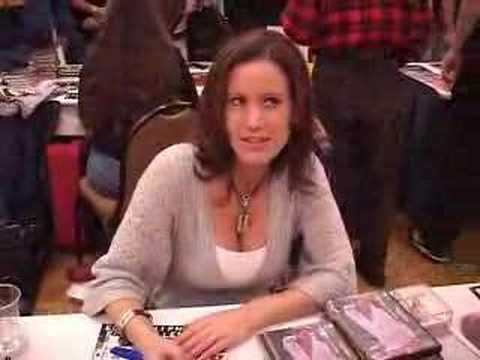 Playboy Playmate Jennifer Lavoie meets her