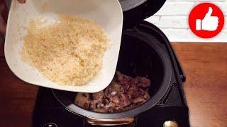 Это мой любимый рецепт Готовлю рис с печенью много Очень легкий и экономичный рецепт в мультиварке