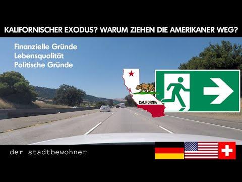 Kalifornischer Exodus? Warum ziehen die Amerikaner weg?