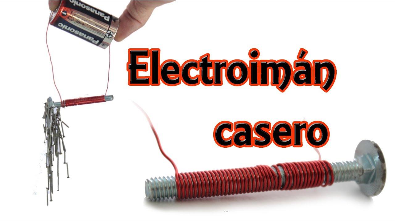 C mo hacer un electroim n casero experimentos caseros for Materiales para hacer un ascensor