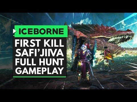 Monster Hunter World Iceborne | FIRST SAFI'JIIVA KILL FULL HUNT GAMEPLAY