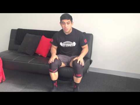 How to put on your SBD Knee Sleeves
