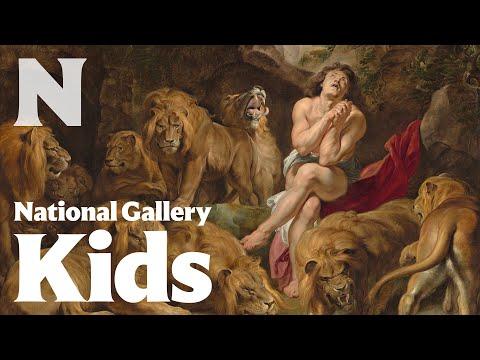 Daniel in the Lions' Den, c. 1614/1616, Sir Peter Paul Rubens