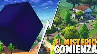 IS THE CUBE GOING TO THE SALT LORD? *SECRET* FORTNITE: Battle Royale