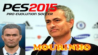 PES 2015 | MOURINHO FACE EDIT TUTORIAL | MANAGERS