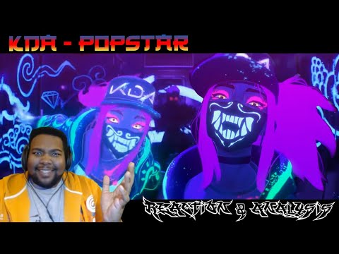 K/DA - POP/STARS! LEAGUE OF LEGENDS MUSIC VIDEO REACTION & ANALYSIS!!! | RIOT WHY YOU DO DIS!!!