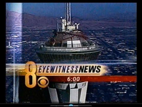 Feb. 20, 2002 Newscast Time Capsule: KLAS-TV Eyewitness News, Las Vegas.