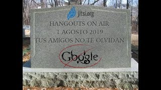 El fin de Hangouts On Air