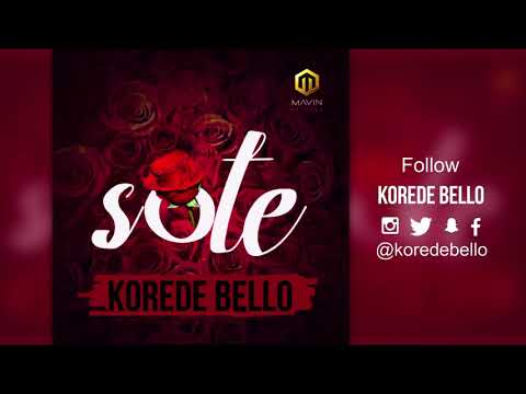 Korede Bello - Sote ( Official Audio )